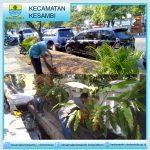 Kantor Kecamatan Kesambi Peduli Kebersihan